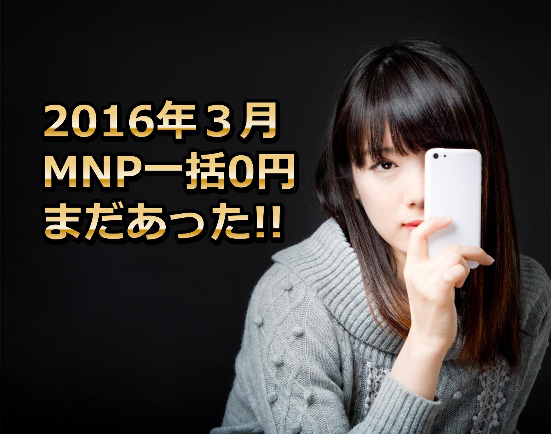 MNP一括02016年