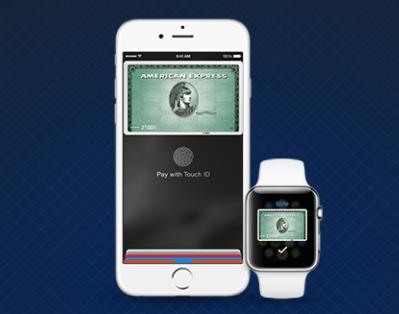 アメリカのApple Payはアメックスが使えます。