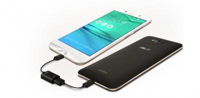 ZenFone3 Ultraにはモバイルバッテリーになる機能がある