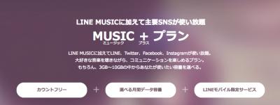 MUSIC+プランってどんなプラン?