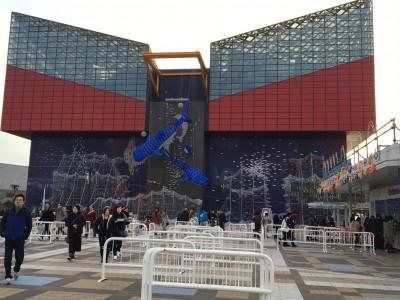 世界最大級!大阪が誇る水族館「海遊館」1