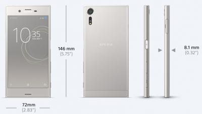 Xperia XZsのカラバリは3色!3