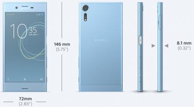 Xperia XZsのカラバリは3色!1