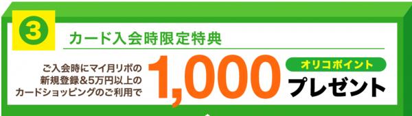 オリコカードザポイント入会で最大8000ポイントゲット!-4