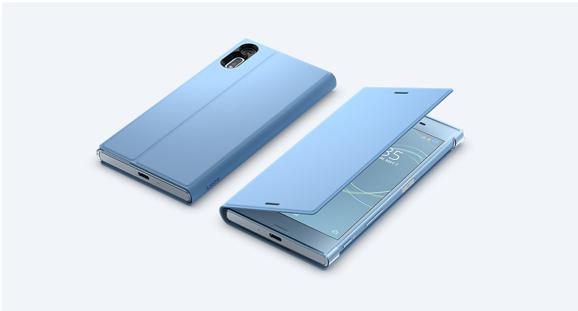 純正が一番かっこいい!Stand Cover Stand SCSG20 for Xperia XZs-4