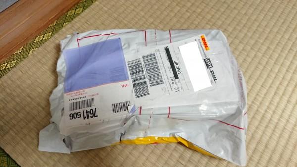 注文から自宅へ届くまで4、5日。中国からの発送と考えれば早い?-2