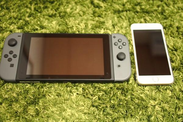 Nintendo Switchの大きさと重さを他の携帯ゲーム機と比較してみた-2