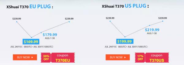 ハイアール(Haier)のロボット掃除機XShuai T370が7月30日までの限定セールを開催【GearBest】-2