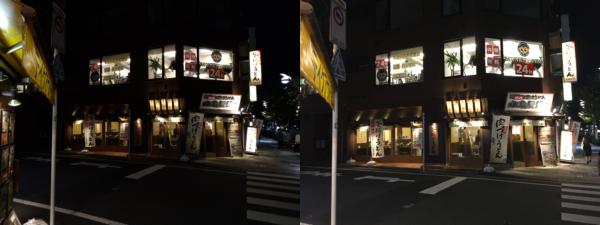 ZenFone4とiPhone6Sのカメラ比較