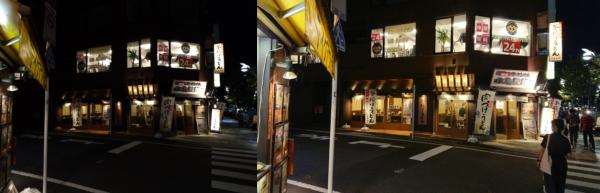 ZenFone4とXperia XZsのカメラ比較