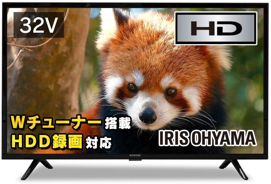 アイリスオーヤマの48型液晶テレビ:32WB10