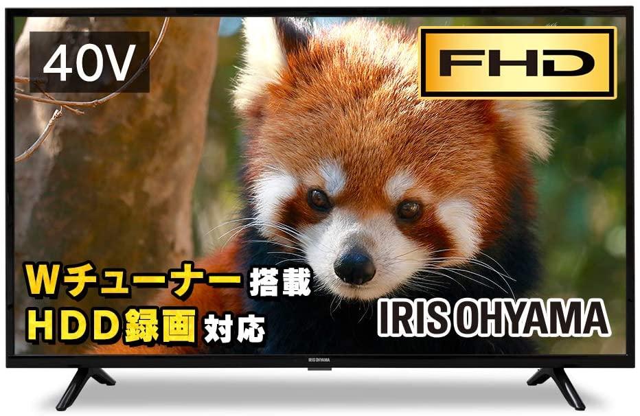 アイリスオーヤマの40型液晶テレビ:40FB10P